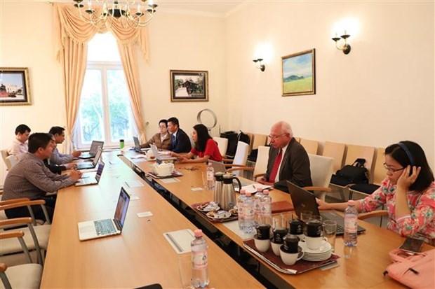 越德两国关系自建立战略伙伴关系以来在各个领域取得长足发展 hinh anh 2
