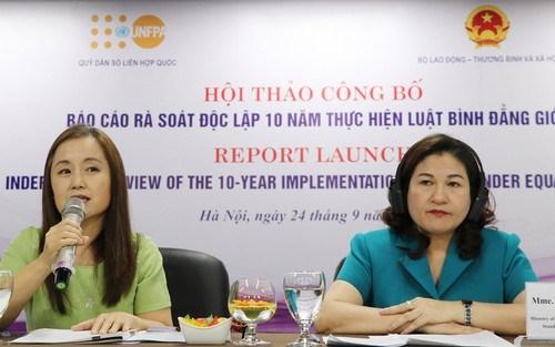性别平等是越南和平与繁荣社会的重要基础 hinh anh 1