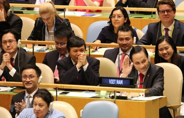 越共中央总书记、国家主席阮富仲以提交讲话录像方式参与第75届联大一般性辩论 hinh anh 2