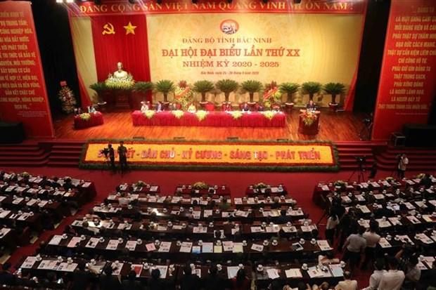 迎接党的十三大:越共北宁省第二十次代表大会隆重开幕 苏林同志出席 hinh anh 1