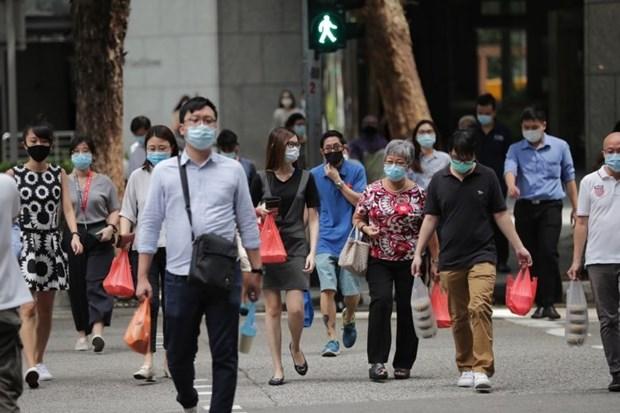 新冠肺炎疫情:新加坡放宽各项防疫措施 hinh anh 1
