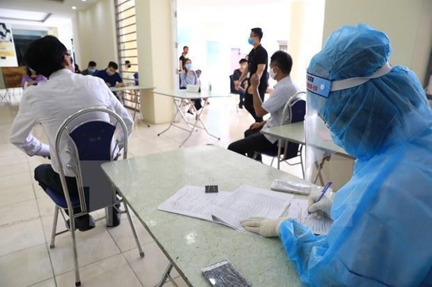 越南新增5例新冠肺炎确诊病例 hinh anh 1