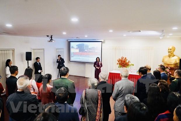 越南驻外机构举行活动 庆祝越南国庆75周年 hinh anh 2