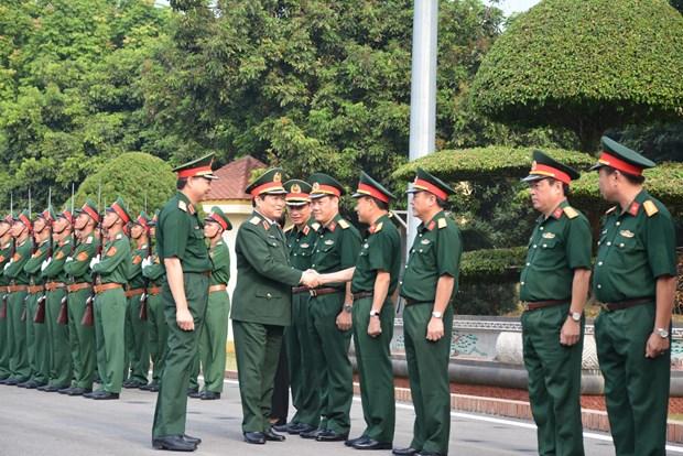加强领导指导力度 建设强大军队 胜利完成新形势下军事国防任务 hinh anh 1