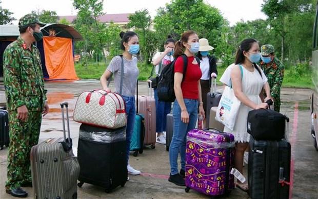 越南新增17例新冠肺炎确诊病例 均为境外输入 hinh anh 1