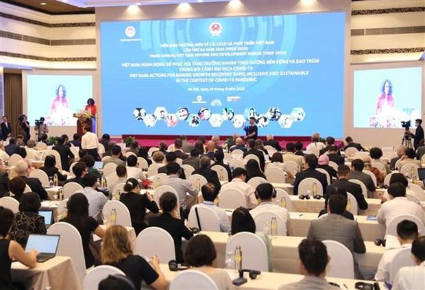 2020年 第三届越南革新与发展论坛正式开幕 hinh anh 1