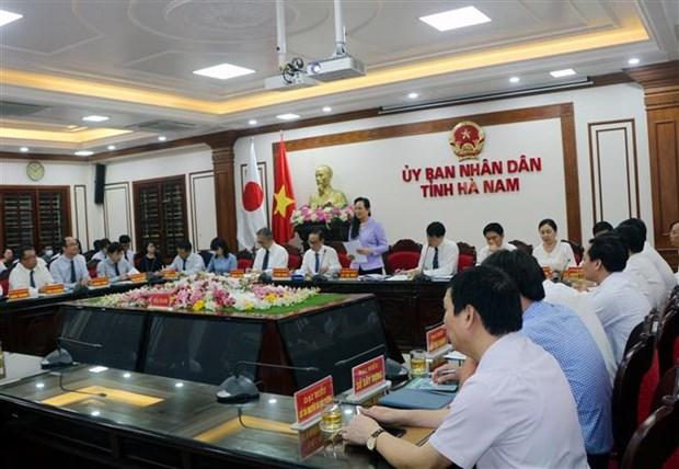 越南河南省与日本各地方和企业促进经济合作 hinh anh 1