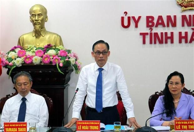 越南河南省与日本各地方和企业促进经济合作 hinh anh 2