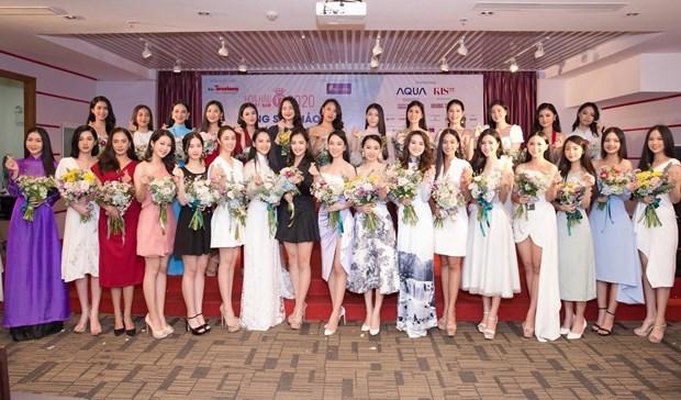 """越捷航空公司同""""香色十年""""的2020年越南小姐选美大赛一路同行 hinh anh 2"""