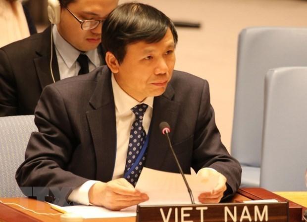 越南与联合国安理会:越南高度评价联合国与非盟之间的合作 hinh anh 1