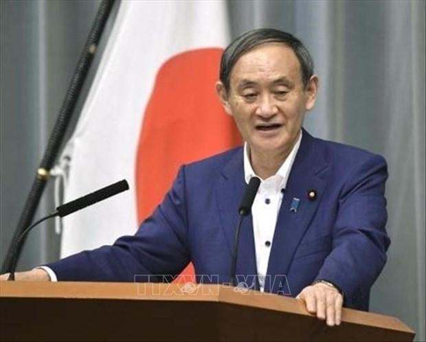 日本首相菅义伟计划于10月中旬访问越南和印尼 hinh anh 1