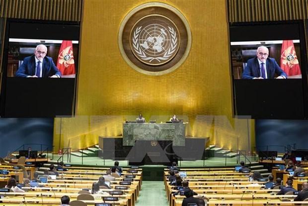 第75届联合国大会:世界各国领导人承诺支持多边主义 hinh anh 1
