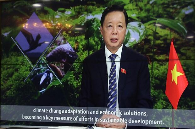 越南自然资源与环境部长在联合国生物多样性峰会上发表讲话 hinh anh 1