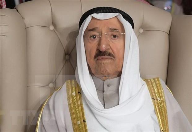 越南领导人就科威特埃米尔萨巴赫逝世致唁电 hinh anh 1