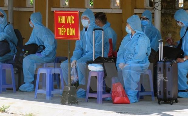 越南新增一例新冠肺炎确诊病例 入境后立即接受隔离 hinh anh 1