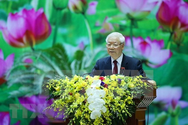 越共中央总书记、国家主席阮富仲致信祝贺水文气象传统日75周年 hinh anh 1