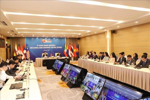 ASEAN 2020:第六届东盟财政部长和央行行长会议发表联合声明 hinh anh 1
