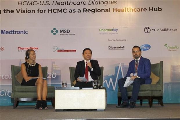 胡志明市与美国促进合作 将胡志明市建成区域医疗中心 hinh anh 1