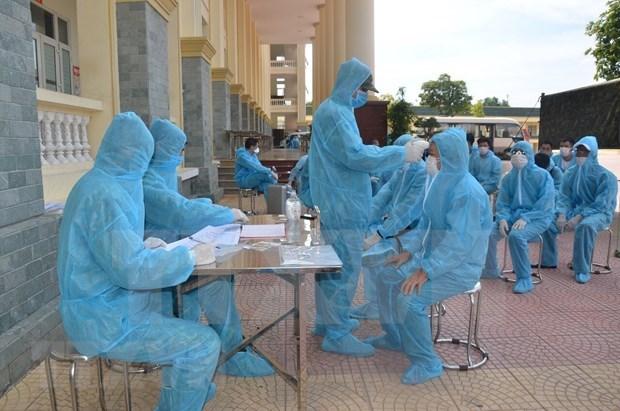 10月3日下午 越南无新增新冠肺炎确诊病例 接受隔离人员1.6万多名 hinh anh 1