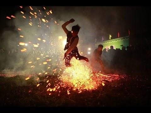河江省红瑶族的跳火仪式被列入国家级非物质文化遗产名录 hinh anh 1