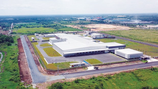 Masan集团在隆安省冷鲜肉加工厂即将投入运行 hinh anh 1
