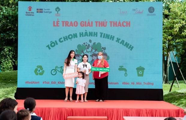 提高越南青少年儿童对环保的意识 hinh anh 1
