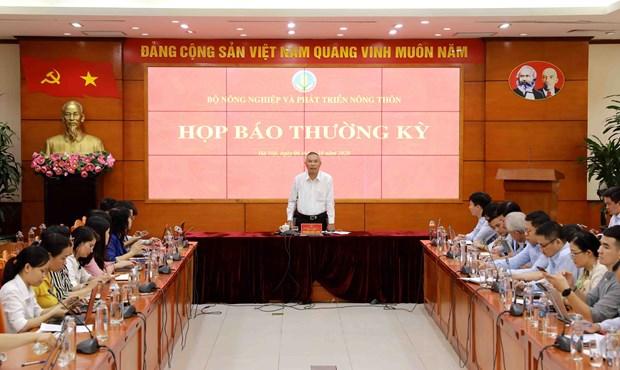 农业与农村发展部副部长冯德进:今年农林水产品出口额将达400亿多美元 hinh anh 1