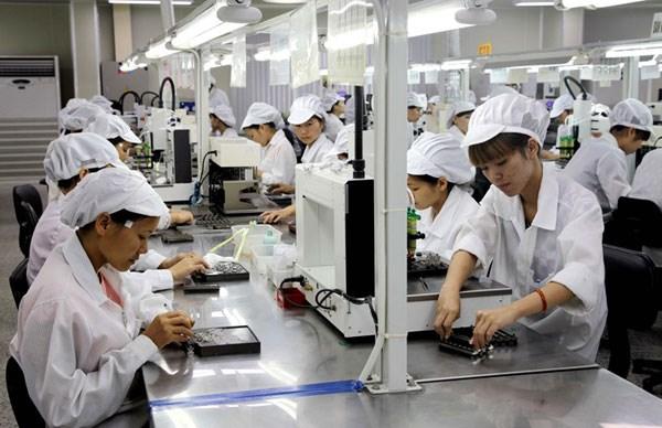 今年前9月永福省各外商投资企业上缴国家财政资金逾2.110万亿越盾 hinh anh 1