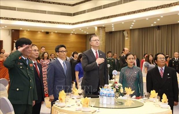 越南-美国建交25周年纪念仪式在河内举行 hinh anh 1