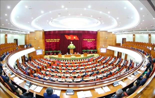 迎接党的十三大:越共第十二届中央委员会第十三次全体会议第四天新闻公报 hinh anh 1