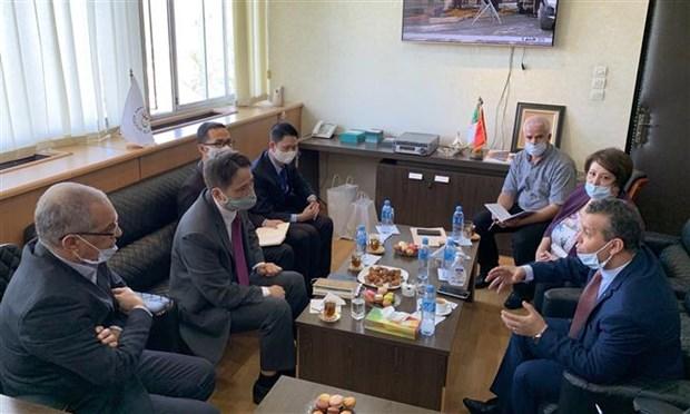 阿尔及利亚国家电视台希望加强与越南电视台的合作 hinh anh 1