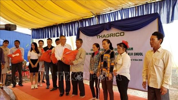 在柬埔寨的越南农业项目协助越裔柬埔寨人进行职业转型 hinh anh 1