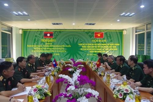 越南与老挝加强边境管控工作中的配合 hinh anh 1