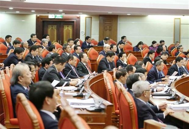 迎接越共十三大:越南共产党第十二届中央委员会第十三次全体会议圆满闭幕 hinh anh 4