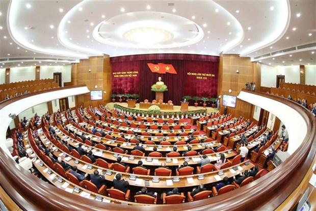 迎接越共十三大:越南共产党第十二届中央委员会第十三次全体会议圆满闭幕 hinh anh 3