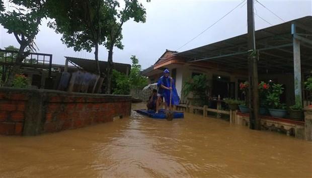 政府总理发布通知要求全力应对中部地区暴雨洪涝灾害 hinh anh 3