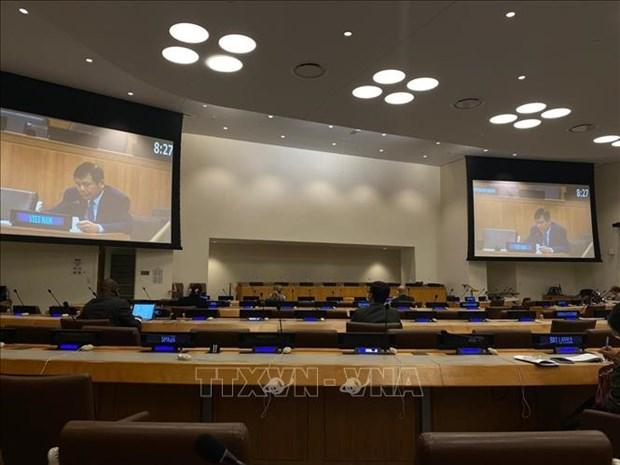 联合国安理会讨论利用调解预防和解决冲突的问题 hinh anh 1