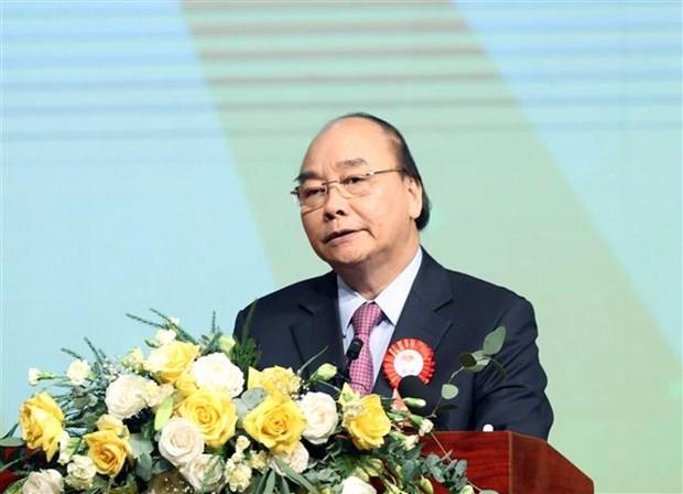 阮春福总理:农业、农民和农村在国家工业化、现代化事业中占有战略地位 hinh anh 1