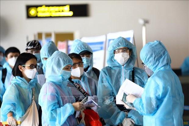10月12日越南无新增新冠肺炎确诊病例 hinh anh 1