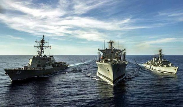 英法德弱化中国有关东海争议的理论 hinh anh 1