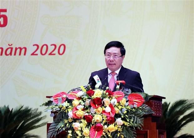 迎接党的十三大:太原省的经济社会各项指标均完成和超额完成既定目标 hinh anh 2
