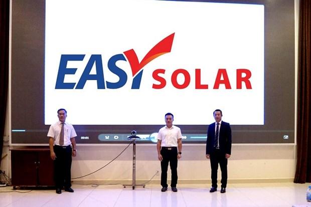 EVNFinance推出财务解决方案Easy Solar 助力实现绿色能源发展目标 hinh anh 1