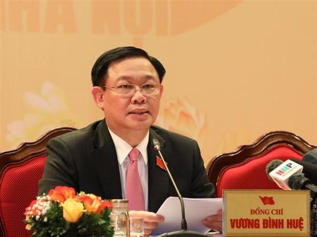 迎接党的十三大:越共河内市第十七代表大会圆满闭幕 hinh anh 2
