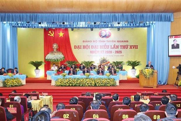 迎接党的十三大:宣光省应注重将促进绿色经济迅速可持续发展与民生保障相结合 hinh anh 1