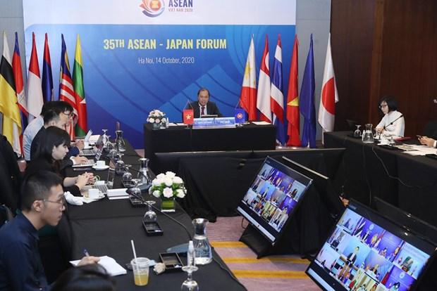 东盟2020:第35届东盟-日本论坛今日召开 hinh anh 2