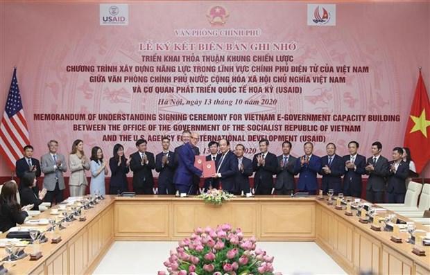 越南同USAID合作推进电子政务建设 hinh anh 1