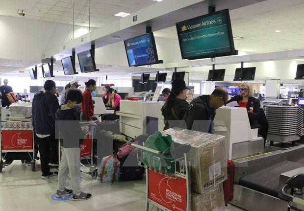 越南将在澳大利亚的近270名公民接回国 hinh anh 1