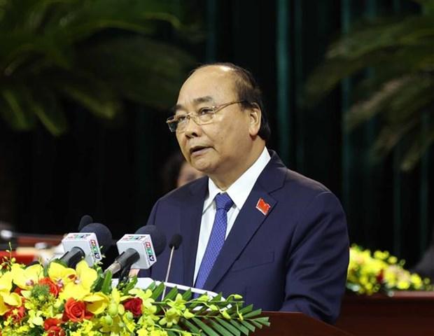 政府总理阮春福:把胡志明市建设成为智慧和国际性大都市 hinh anh 2