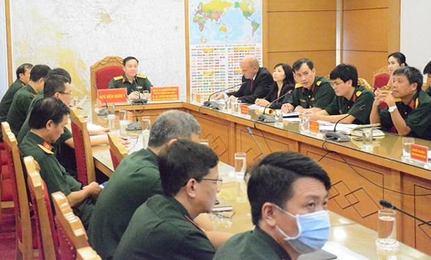 越南和南非军医加强合作应对新冠肺炎疫情 hinh anh 1