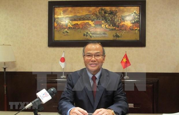 日本首相访问越南将为越日关系的发展注入强劲动力 hinh anh 1